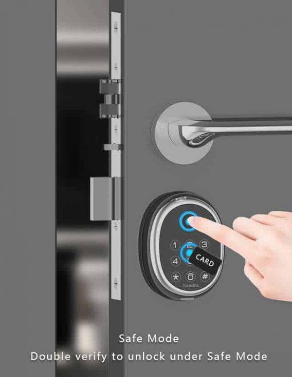 Kaadas M9 DIgital Lock Safe Mode