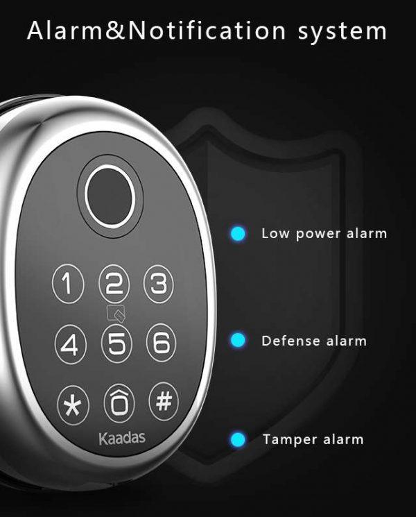 Kaadas M9 DIgital Lock Alarm & Notification System