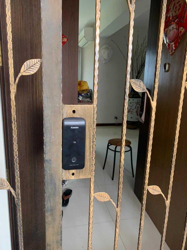Kaadas-Gate-Lock-(R6G)-Installation