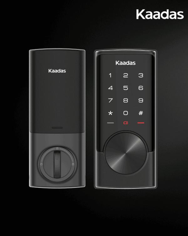 Kaadas-RXC-digital-deadbolt-lock-black-1